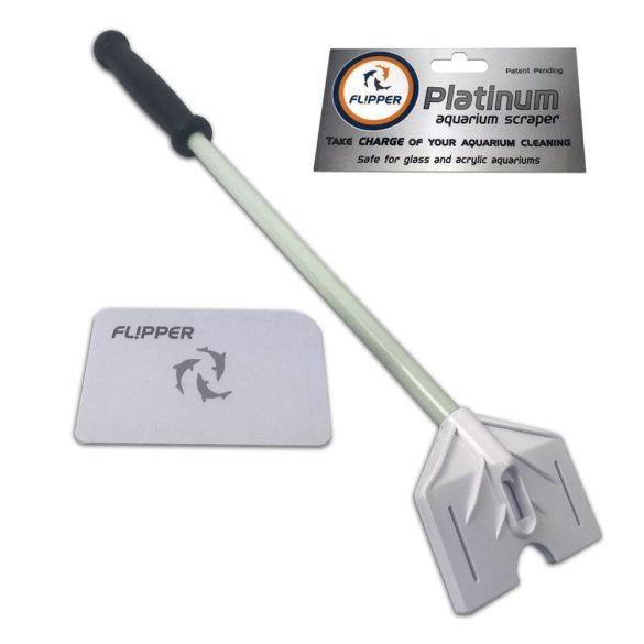Flipper Platinum 25 cm-s kártyás algakapró