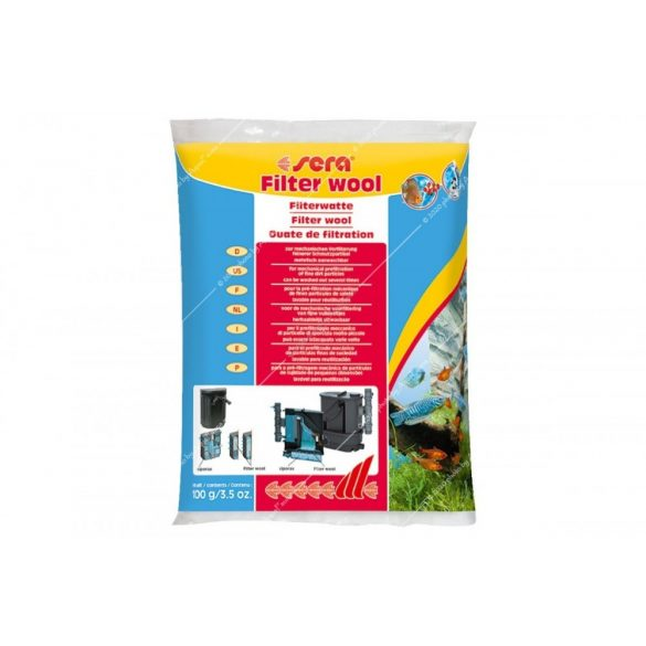 Sera Filter Wool - Perlonvatta 100g