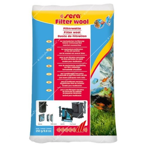 Sera Filter Wool - Perlonvatta 250g