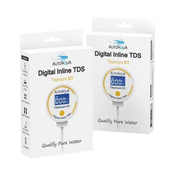 AutoAqua Digital Inline TDS Titanium S1