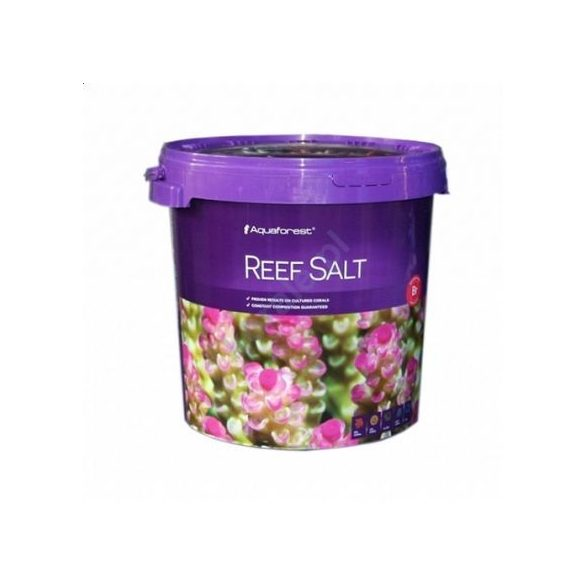 Aquaforest Reef Salt - Tengeri só 22kg (vödör)