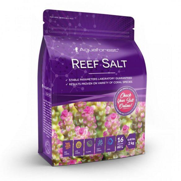 Aquaforest Reef Salt - Tengeri só 2kg