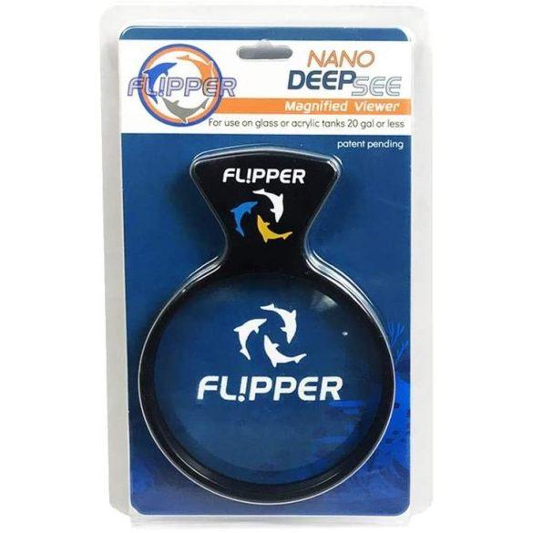Flipper Nano - mágneses nagyító lencse (kb 80 literes akváriumhoz)