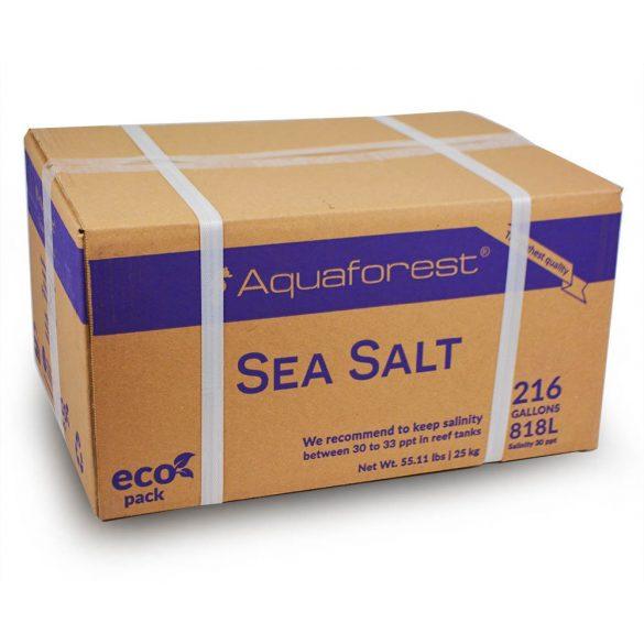 Aquaforest Sea Salt - Tengeri só 25kg (doboz)