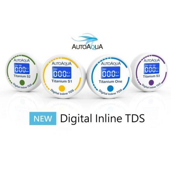 AutoAqua Digital Inline TDS Titanium One