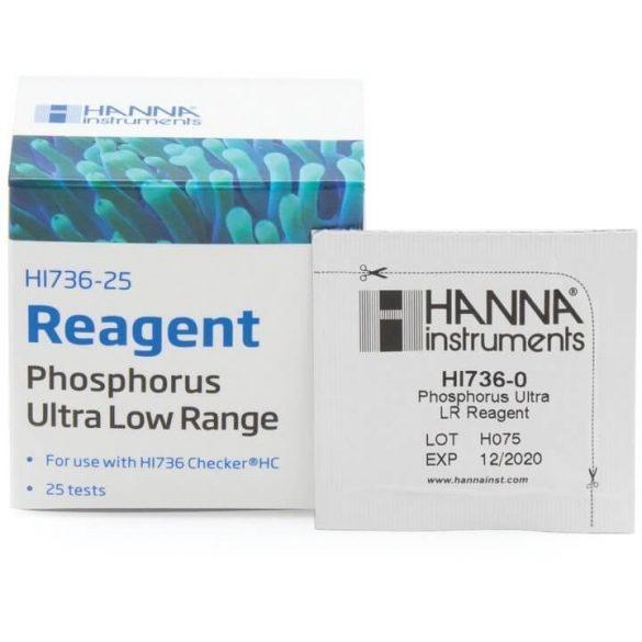 HANNA HI 736-25 Reagens (foszfor ULR)