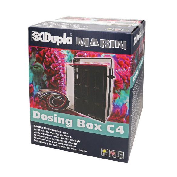 Dupla Marin Dosing Box C4 - nyomelemtartály