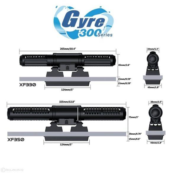 Maxspect Gyre XF330 Double áramoltató szabályzóval