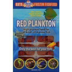 Ruto vörös plankton 100g fagyasztott eledel